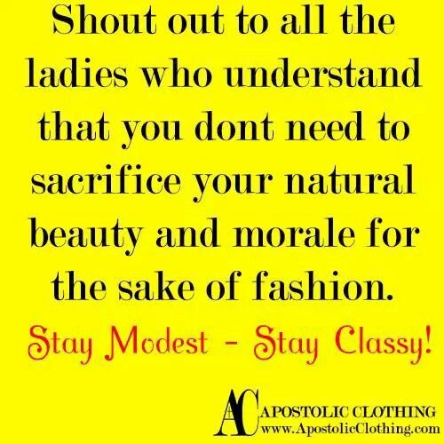 Stay classy! #modesty #quotes #christian