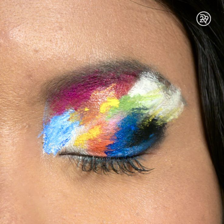 An artist& palette-inspired tutorial that& *perfect* for early Hallowe. - - An artist& palette-inspired tutorial that& *perfect* for early Halloween planners Concealer Tips Undereye How To Apply 2019 Concealer Tips I. Makeup Art, Beauty Makeup, Eye Makeup, Makeup Goals, Zombie Makeup, Scary Makeup, Airbrush Makeup, Hair Makeup, Creepy Halloween Makeup