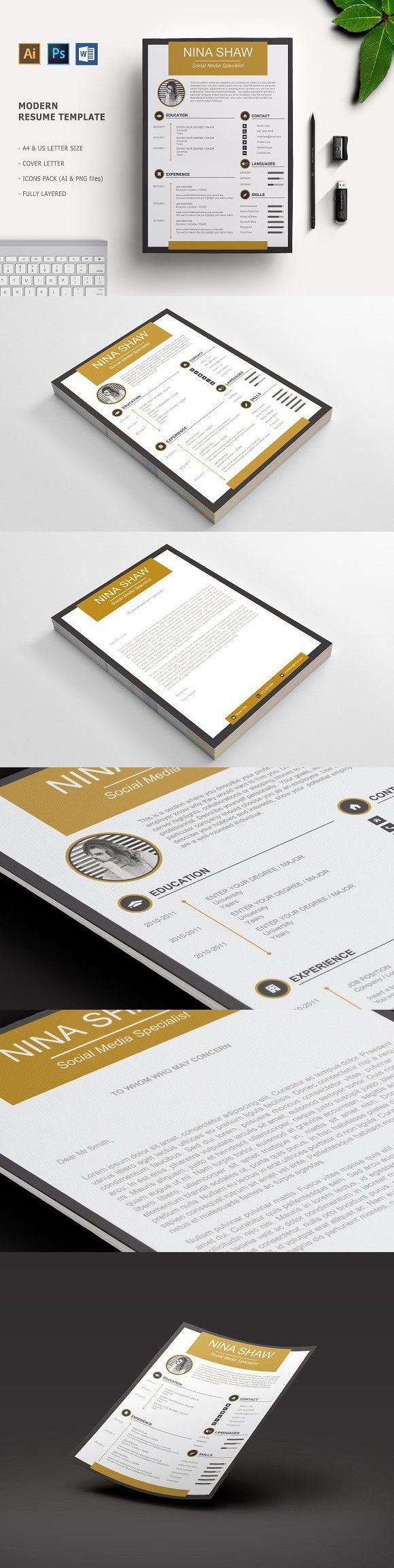 Aurora Resume Template 89 best RESUMESCARDS images