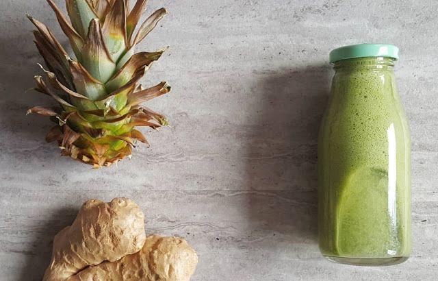 Odchudzający zielony koktajl oczyszczający, dobry na detoks