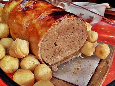 Testé et approuvé à Noël même par des omnivores: Rôti de dinde (Vegan: seitan) | Ma Cuisine Végétalienne
