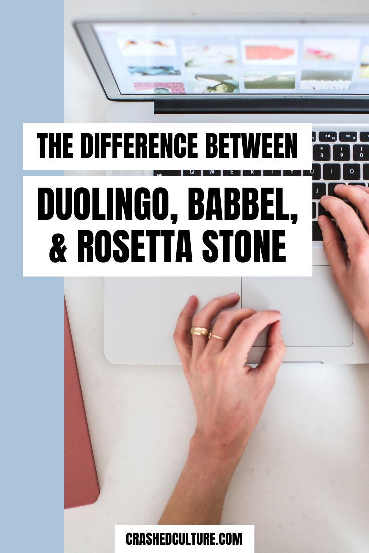 Babbel vs Rosetta Stone vs Duolingo in 2020 Learn a new