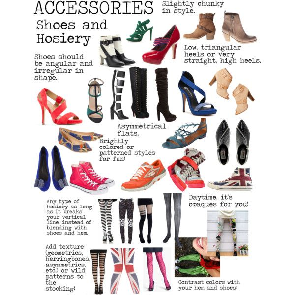 """Flamboyant Gamine (FG) Accessories - Shoes and Hosiery"" by lightspring on Polyvore"