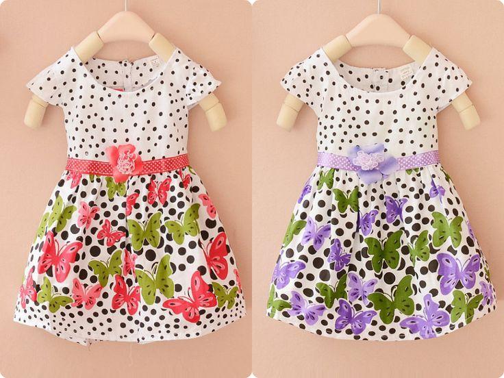 Vestidos florales  Precio: $ 46.000  Edad: 2 - 5 años
