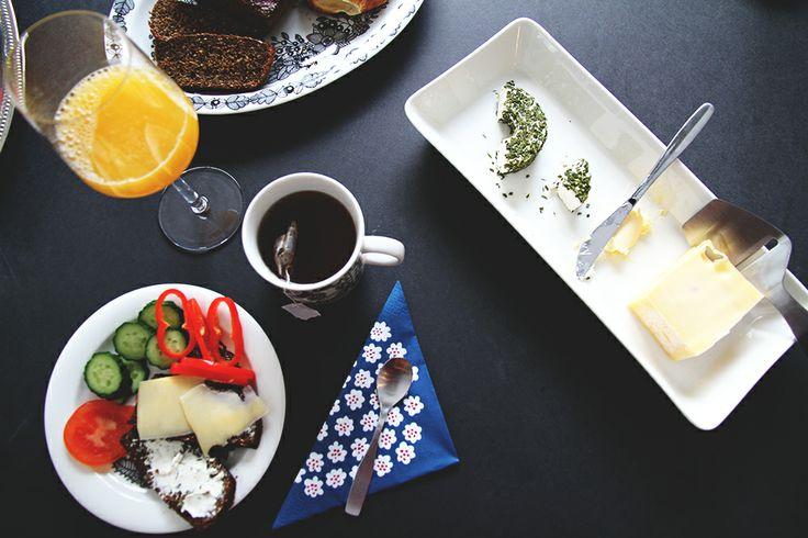 Breakfast, Hunajaista blog.