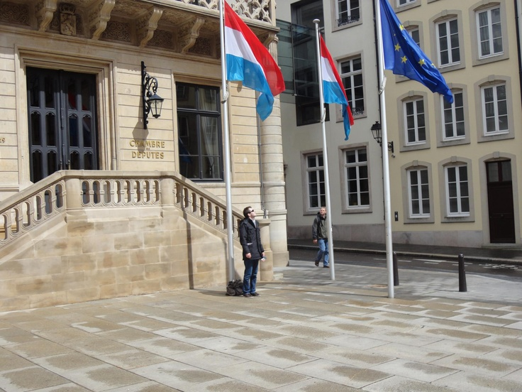 #Luxembourg #ChambreDesDeputes #EU #flags