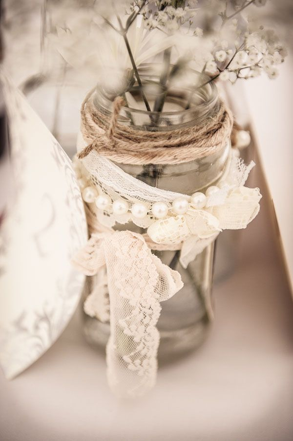 Meredith loves lace and romance and simple. This inclusion of lace is