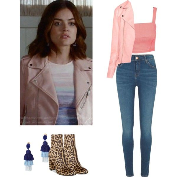 A fashion look from April 2017 featuring River Island jeans, Steve Madden ankle booties and Oscar de la Renta earrings. Browse and shop related looks.