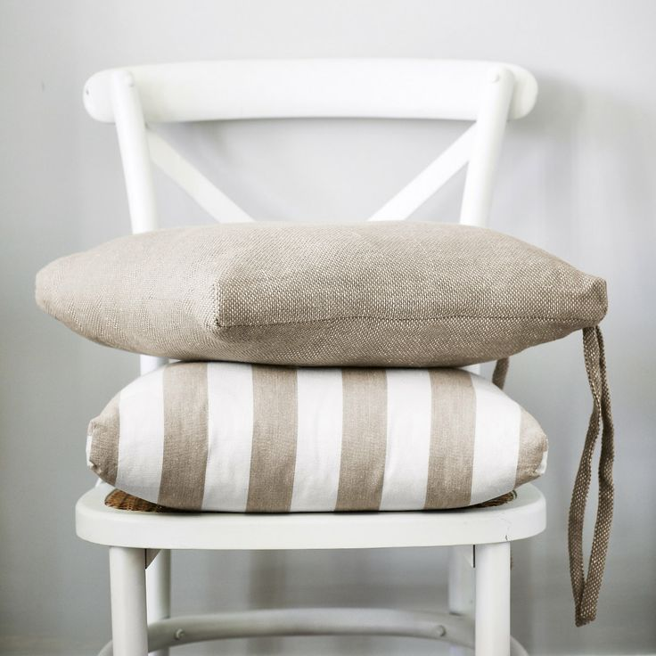 Basket Weave Seat Pad | The White Company