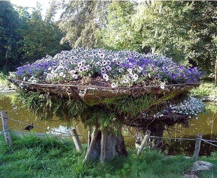 nebitna idea for flower garden