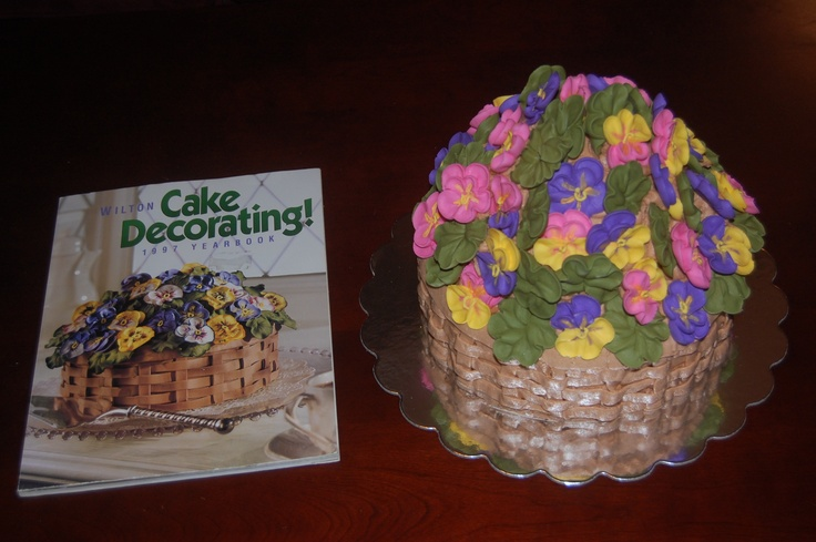 Cake Decorating Classes At Joann Fabrics : Course 2 Final Cake - JoAnn Fabrics, Lemoyne, PA #wiltoncontest My Wilton Method Class Cake # ...