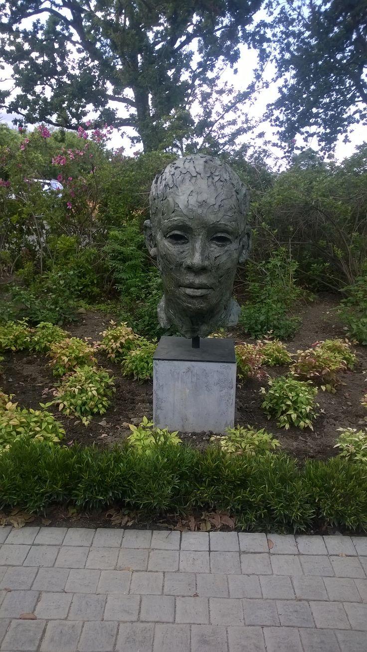 Sculptures at Lourensford Wine estate in Stellenbosch.