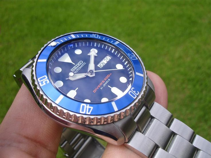 Seiko SKX 009 Blue Bezel Mod Question...