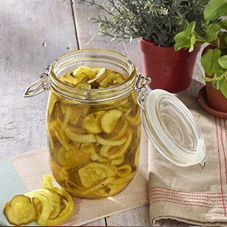 Icebox Bread & Butter Pickles (David Venable)