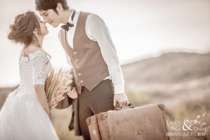 蕾絲娃娃相本4 蕾絲娃娃法式手工婚紗 婚紗作品 - WeddingDay 我的婚禮我作主