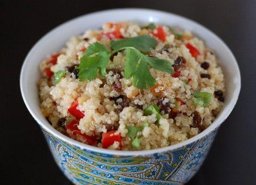 Lime-cilantro Quinoa Salad: Cilantro Limes, Belle Peppers, Recipes, Limecilantro Quinoa, Limes Cilantro Quinoa, Realfood, Quinoa Salad, Cilantro Lime Quinoa, Real Food