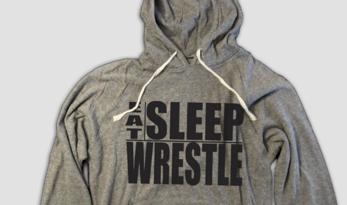 Funny Wrestling Hoodie, Eat, Sleep Wrestle, success, singlet, freestyle, folkstyle, Greco-Roman by AspieTees on Etsy https://www.etsy.com/listing/232952588/funny-wrestling-hoodie-eat-sleep-wrestle