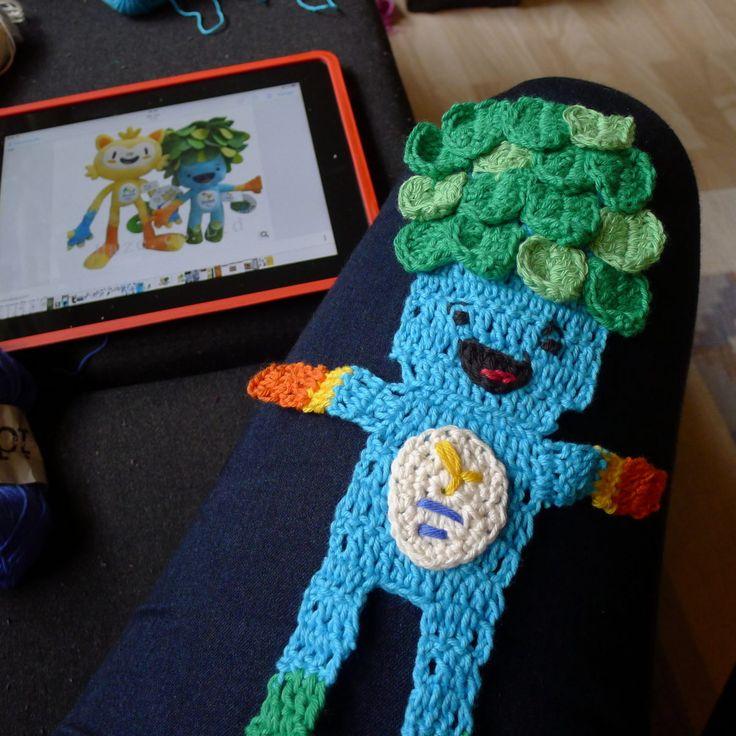Krealegene OL Mascot Tom crochet 2