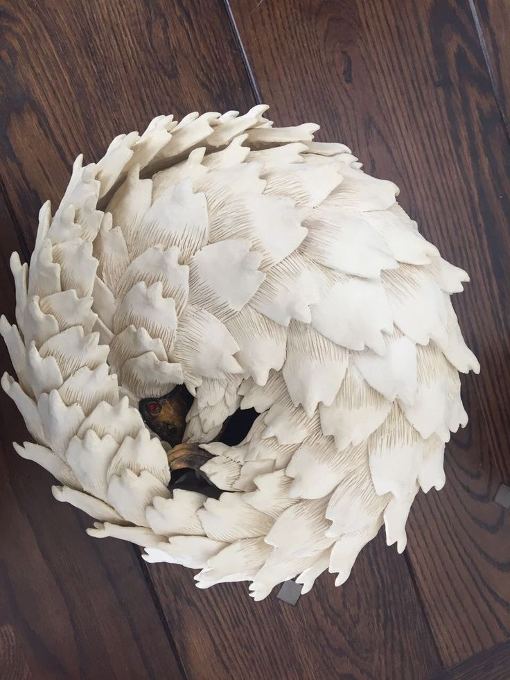 Ardmore Pangolin in ivory