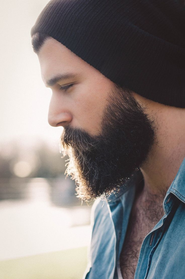 Modern pompadour beard - Definitely Beard