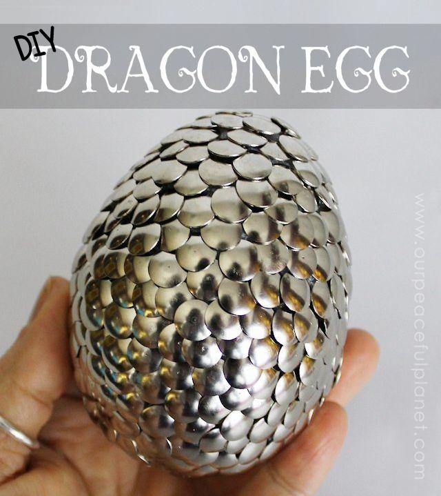 Oeufs de dragon pour Fan Games of Thrones.....ou une super idée de trésor pour une chasse au trésor.