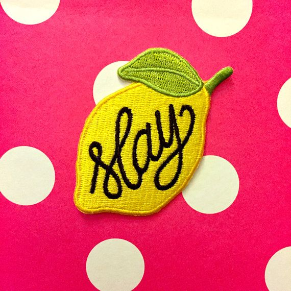 Patch It Up: 10 Of Our Favorite Picks! http://thecurvyfashionista.com/2017/04/fashion-patches/ Bey Hive, let 'em know you are here to slay with this bright and colorful patch from Etsy! Decorate your denim (and more!) with fun and funky patches this spring! We're sharing 10 of our favorite patches you'll want to be adorned in!