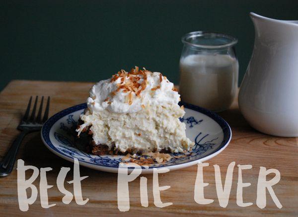 Peter Loves Jane:Best Coconut Cream Pie - Ever! - Peter Loves Jane