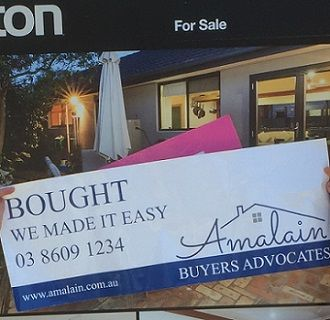 Thank you very much to Michelle who was lovely to work with and found us a gorgeous property and made the negotiating and purchasing of it very easy! Ellen & Mike #Amalain #wemakeiteasy #melbre