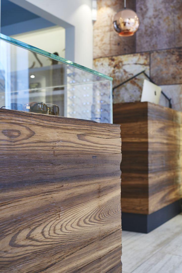 glasses shop in Aarhus, Denmark. #wood #hygge #inspiration #Kjeldtoft