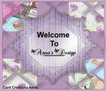 Designer: Annas Design  Hallo allemaal, ik zou me even voorstellen ik ben Anna van Anna's Card Creationz. Anna's Card Creationz een leuk adres voor je persoonlijke kaarten. Mijn Twitter: https://twitter.com/AnnasCard Mijn Facebook: https://www.facebook.com/cardcreationz.anna Uw Bruiloft of geboortekaarten laten ontwerpen? stuur een mail naar: cardcreationzanna@gmail.com