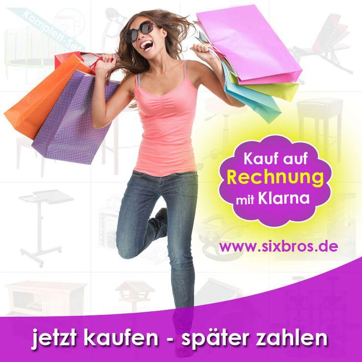 """Ab jetzt shoppen Sie gnadenlos mit der Zahlungsweise """"Kauf auf Rechnung"""" https://www.sixbros.de/"""