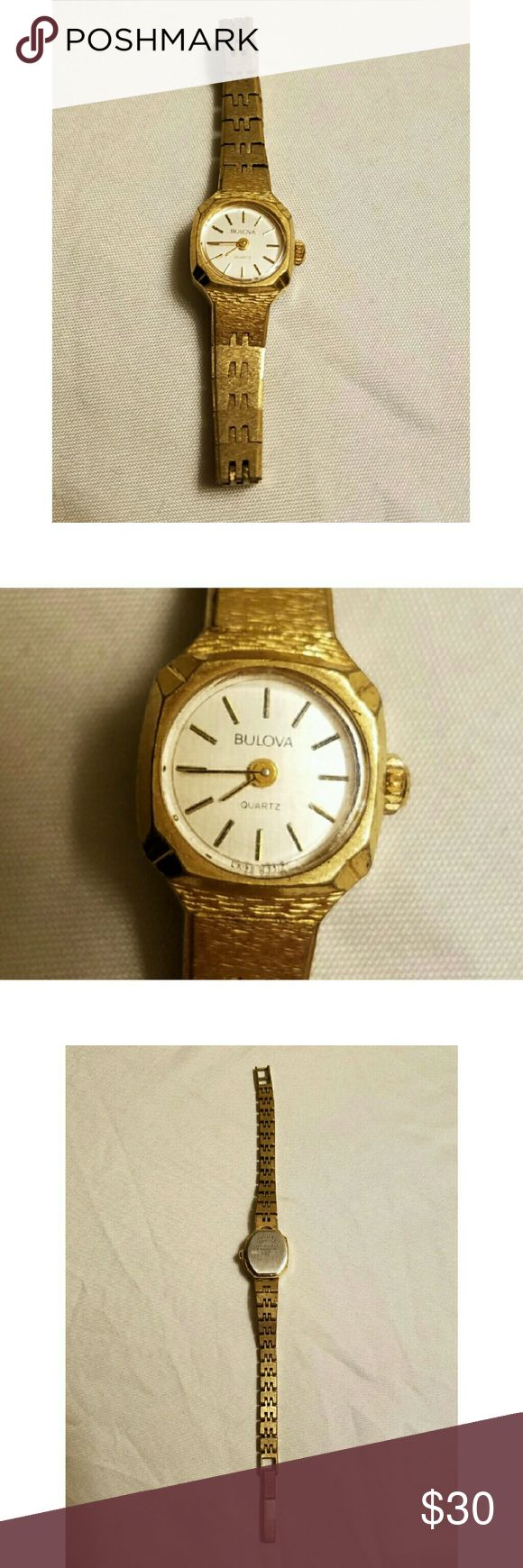 Bulova watch Vintage Bulova copper/gold colored watch. Bulova Accessories Watches