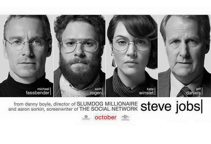 New Steve Jobs movie poster by photographer Brigitte Lacombe