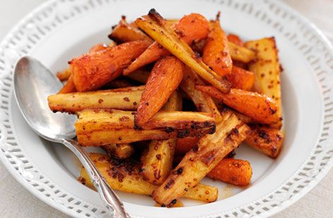 A simple Sticky Chantenay carrots and parsnips recipe for you to cook a great meal for family or friends. Buy the ingredients for our Sticky Chantenay carrots and parsnips recipe from Tesco today.