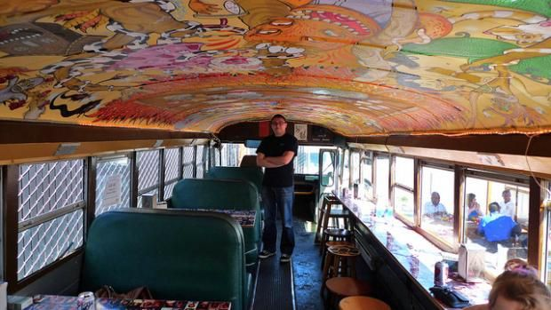 school bus conversions to motorhomes | 15 Creative Converted School Buses