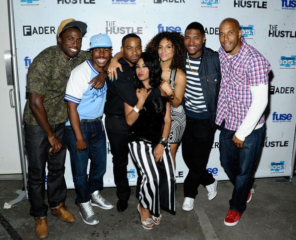 Fuse the Hustle TV Show | the hustle screening in brooklyn in this photo davetta sherwood ...