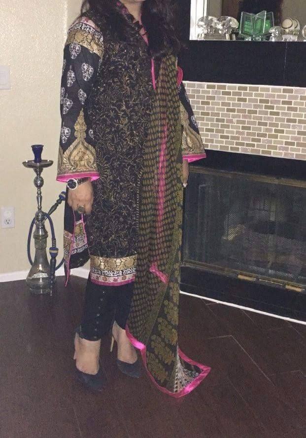 A SoCal customer showing off her replica of Sana Safinaz! #pakistanidressescasual #sanasafinazdresses #pakistanidressesshalwarkameez #longpakistanidresses  #simplepakistanidresses #latestpakistanidresses #pakistanidresses2016