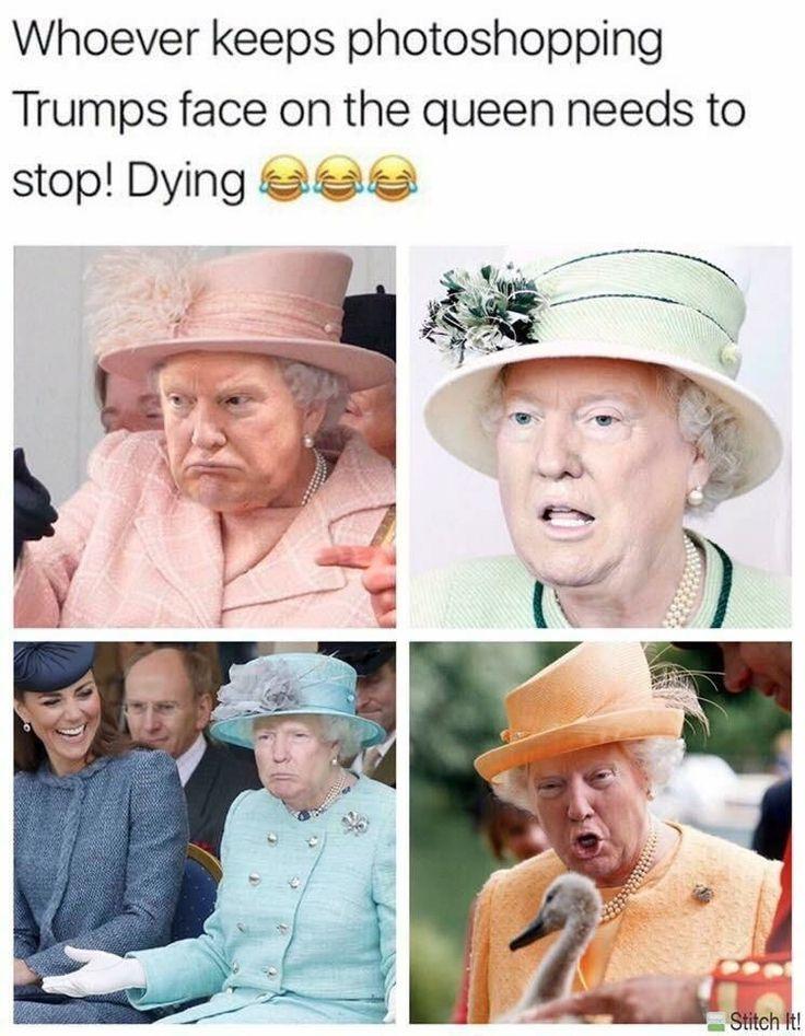 Montage photo qui Trump