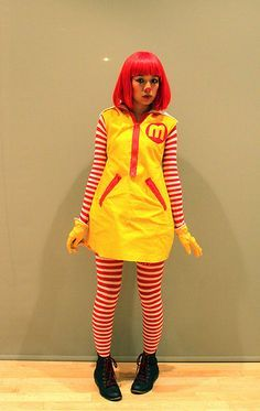 ronald mcdonald halloween costume - Google Search
