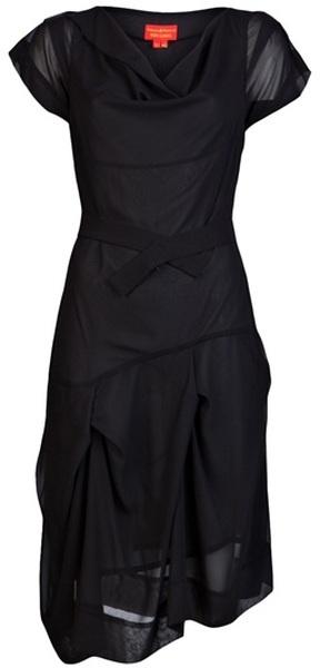 Long Black Dress by Vivienne Westwood @ lyst