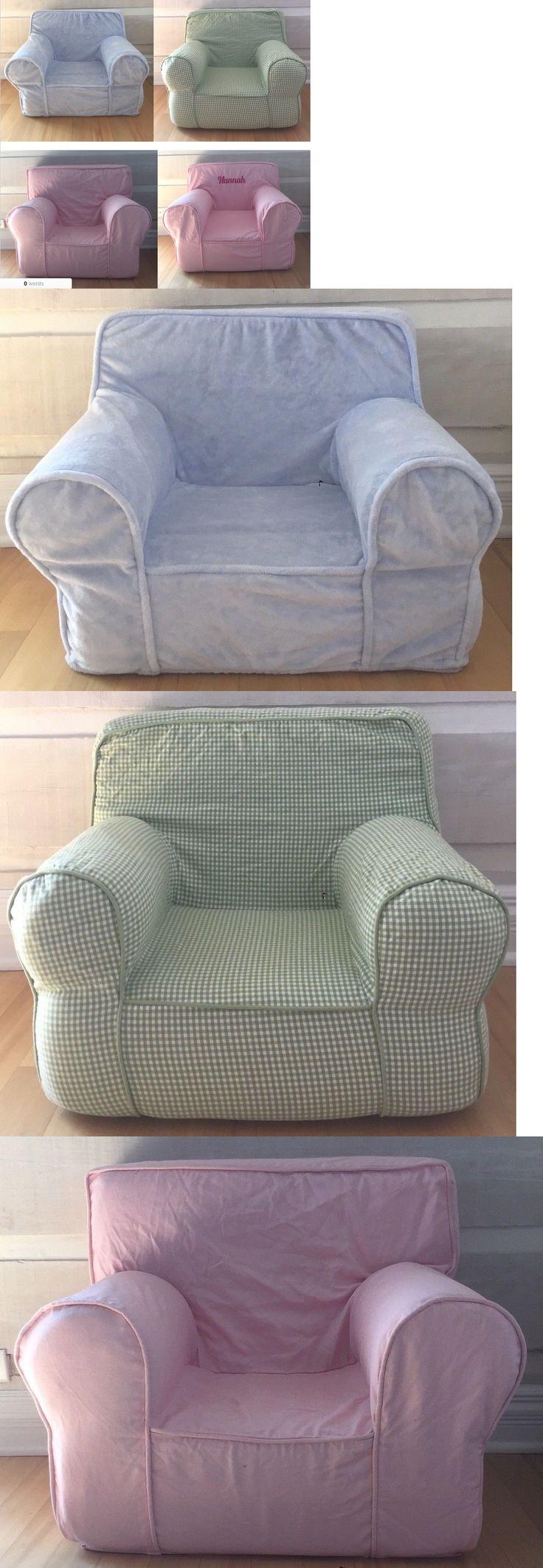 pottery barn nursery chair slipcover