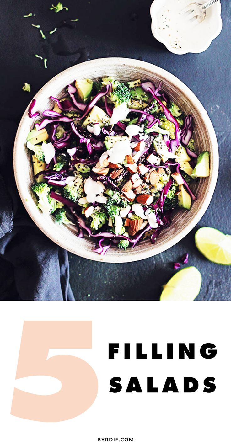 Trying to lose weight? Add these filling salads to your recipe rotation