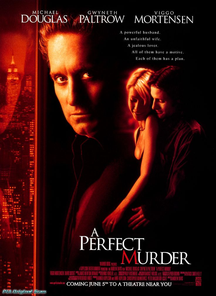 a perfect murder1998 movies music tv shows and