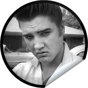 Elvis Superfan -  You celebrate January 8, the birth of the King of Rock 'n' Roll, as a national holiday. Thanks for being a true Elvis Superfan! Share this one proudly. It's from our friends at Elvis Presley Enterprises.