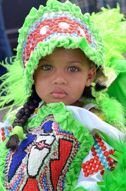 Mardi Gras Indian on Super Sunday 2012 | Flickr