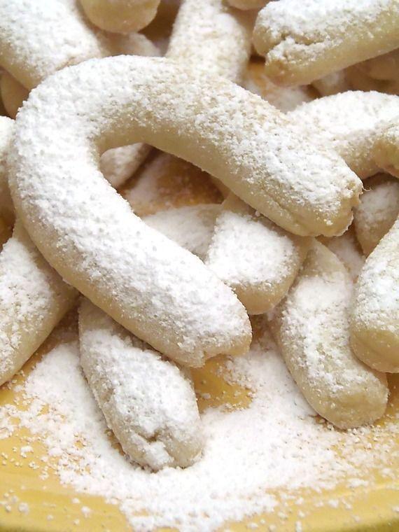 Vanillakipferl ricetta biscotti alla vaniglia facili,cottura 12 minuti