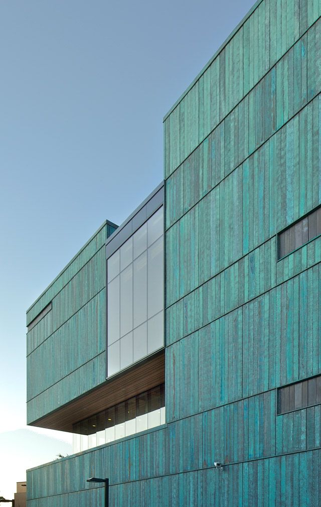 Steel Building Panels : Zahner custom metal panels university of toronto exterior