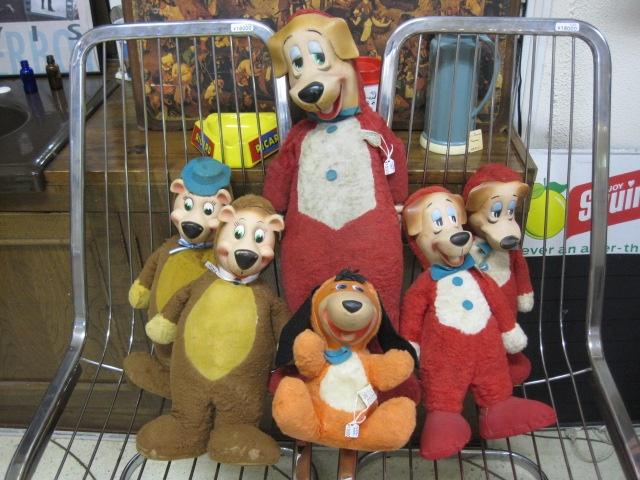 Hanna Barbera   vintage knickerbocker dolls
