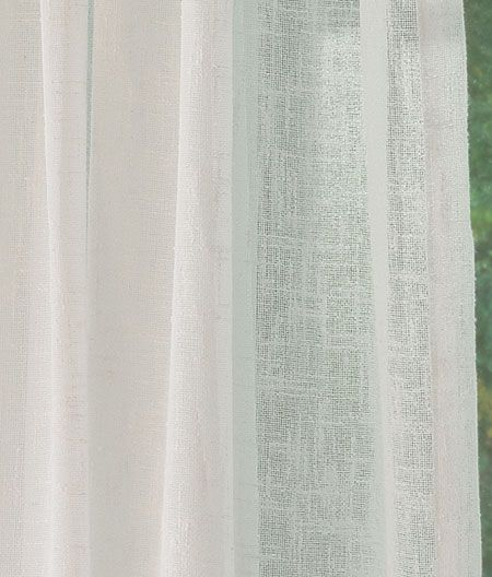 Country Curtains Sheer Linen Rod Pocket Panel These Would