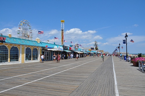 Someday we will be together again on the Ocean City Boardwalk!